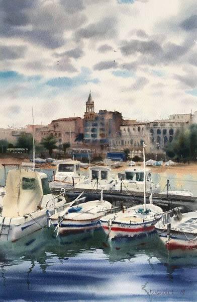 Boats, Palamos, Spain