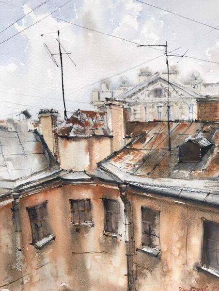Roofs of St. Petersburg #1