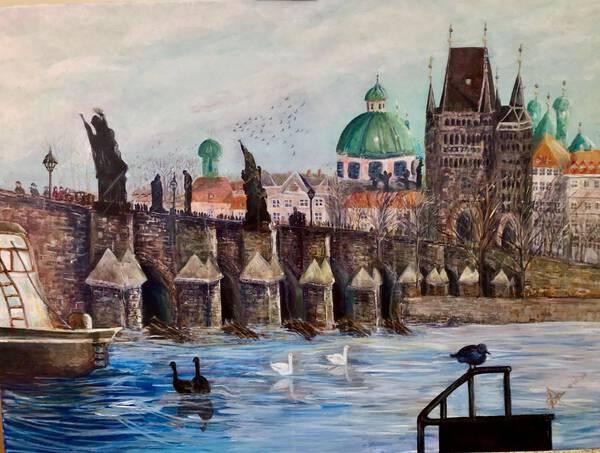 Prague,Charles Bridge