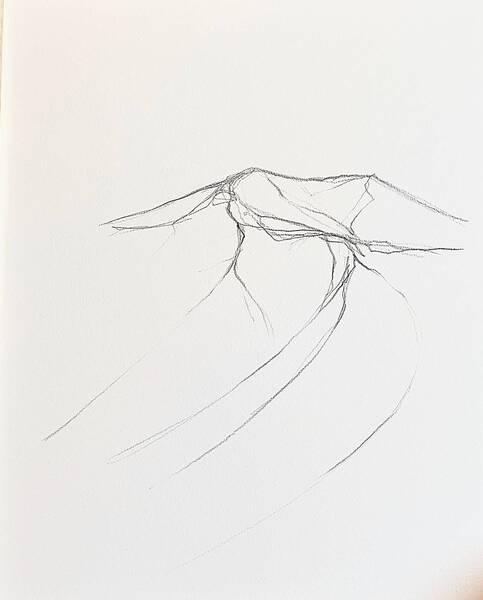 gunung-drawing#5