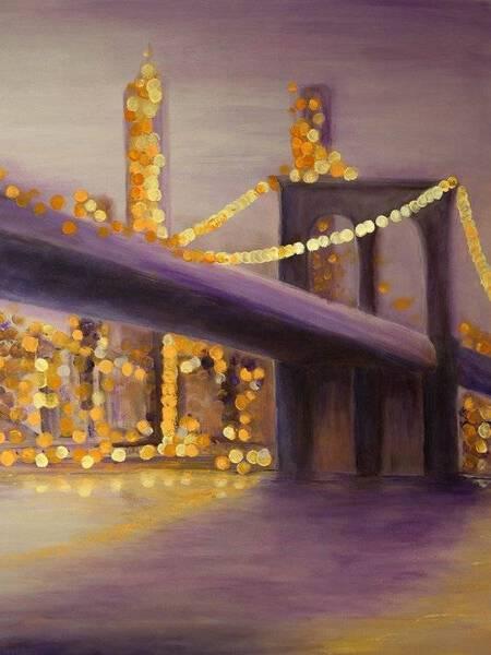 DISTANCE - BROOKLYN BRIDGE BOKEH