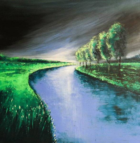 THE RIVER AND THE STORM - FIELDS AND COLORS SERIES