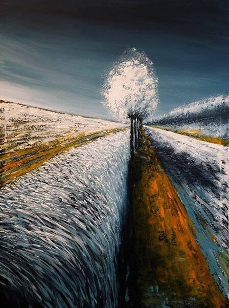 HOAR FROST II - FIELDS AND COLORS SERIES