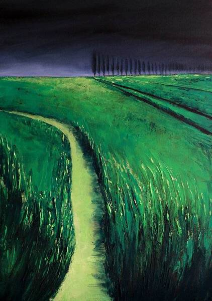 THE GREEN RIVER AND THE STORM - FIELDS AND COLORS SERIES