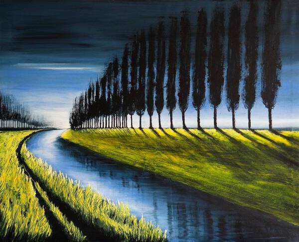 REFLEXIONS OF SUMMER - FIELDS AND COLORS SERIES-