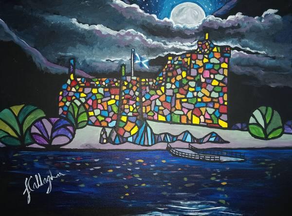 Number 3 - The Scottish Series - Kilchurn Castle