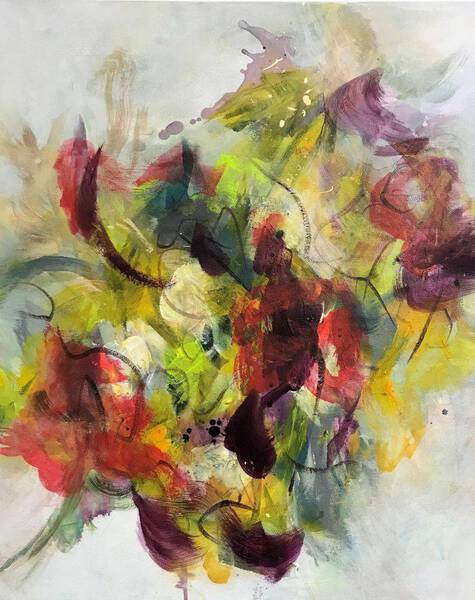 Floral Abstract III