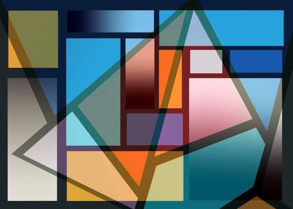 Mondrian Evolution