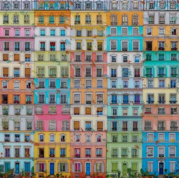 Paris, Small Rue Crémieux