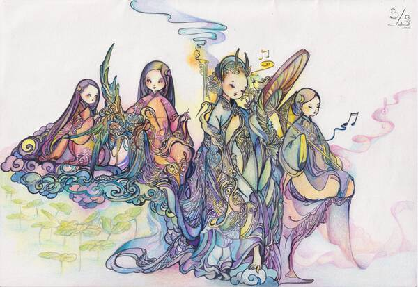 Slender and Frail Ladies