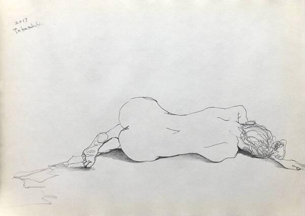 Nude Woman #3 - Back-