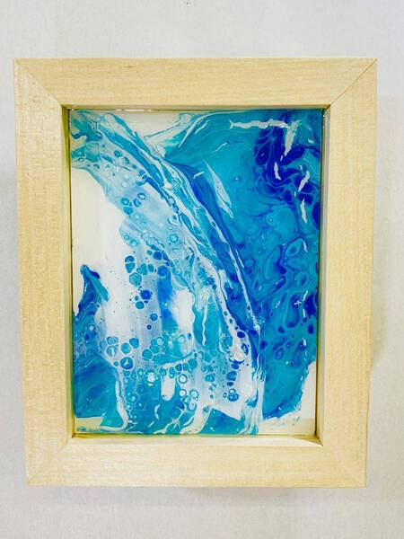 Fluid Artcraft Tableau (Blue #2)