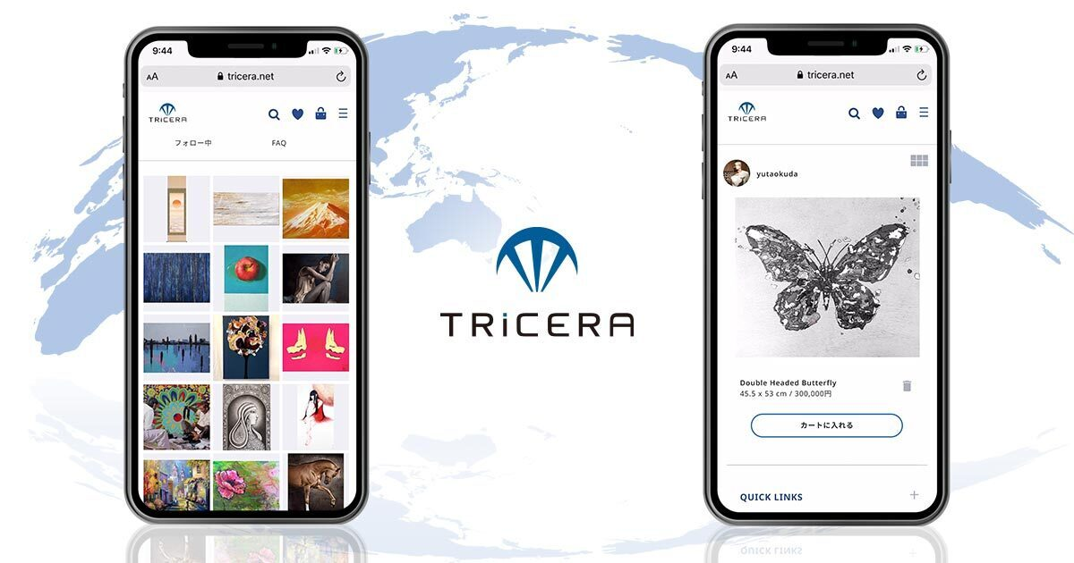 TRiCERA ART (トライセラ・アート) | 世界中の若手アーティストによる絵画・現代アート作品を購入可能なオンライン販売ギャラリー